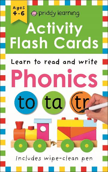 Image for Learn to Read and Write Phonics : Wipe Clean Activity Flashcards
