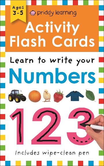 Image for Learn to Write Your Numbers : Wipe Clean Activity Flashcards