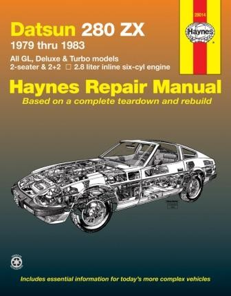 Datsun 280zx 1979 1983 Haynes Repair Manual 28014