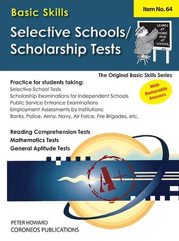 Image for Selective School and Scholarship Tests (Basic Skills No. 64)
