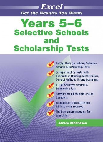 Image for Excel Test Skills : Selective Schools and Scholarship Tests Years 5-6