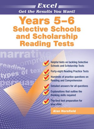 Image for Excel Test Skills : Selective Schools and Scholarship Reading Tests Years 5-6