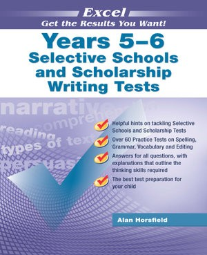 Image for Excel Test Skills : Selective Schools and Scholarship Writing Tests Years 5-6