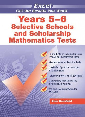 Image for Excel Test Skills : Selective Schools and Scholarship Mathematics Tests Years 5-6