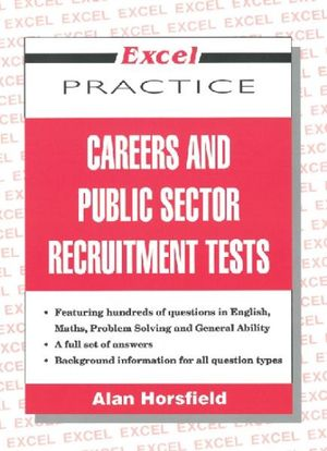 Image for Excel Practice : Careers and Public Sector Recruitment Tests