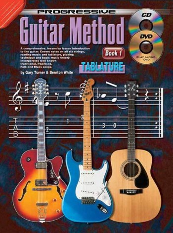 Image for Progressive Guitar Method Book 1 Tablature Book/CD/DVD