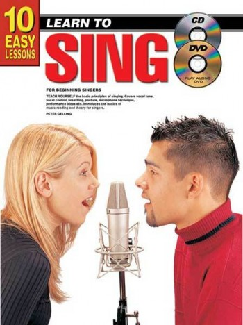 Image for 10 Easy Lessons Learn To Sing Book/CD/DVD For Beginning Singers