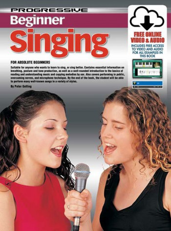 Image for Progressive Beginner Singing for Absolute Beginners Book/Online Video and Audio