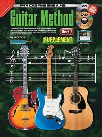 Image for Progressive Guitar Method Book 1 Supplement Book/CD/DVD