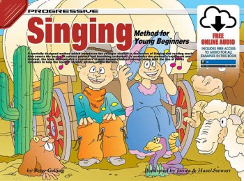 Image for Progressive Singing Method for Young Beginners Book/Online Audio