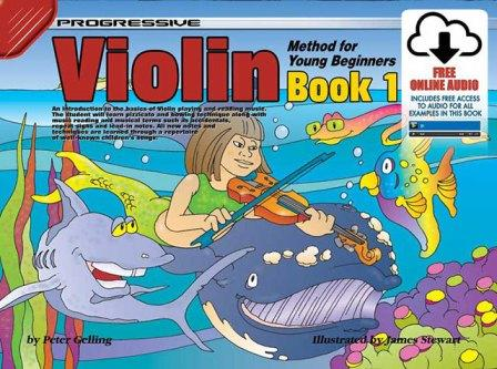 Image for Progressive Violin Method for Young Beginners Book 1 (with Free Online Audio)
