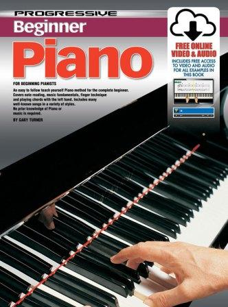 Image for Progressive Beginner Piano Book [with Free Online Video and Audio]