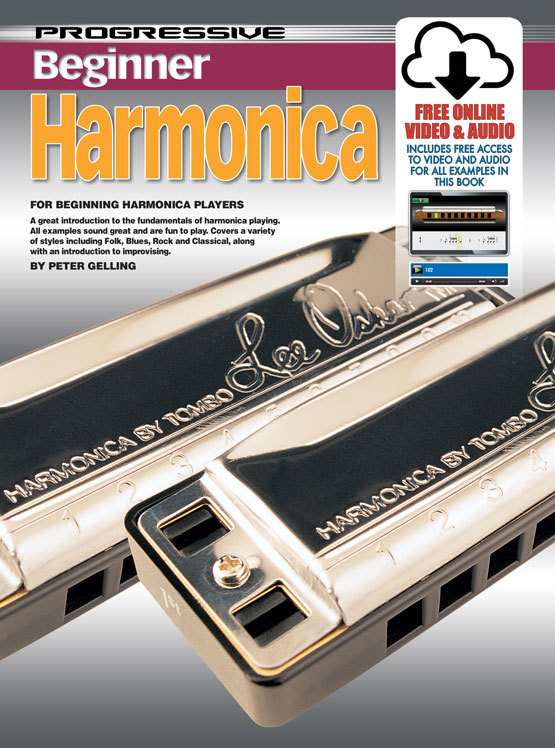 Image for Progressive Beginner Harmonica Book [with Free Online Video and Audio]