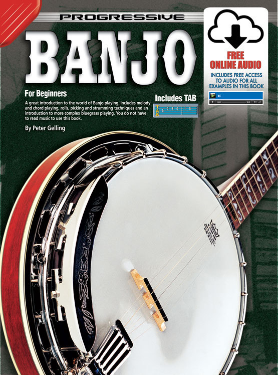 Image for Progressive Banjo for Beginners Book [with Free Online Audio]
