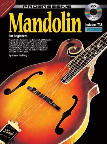 Image for Progressive Mandolin for Beginners Book/CD