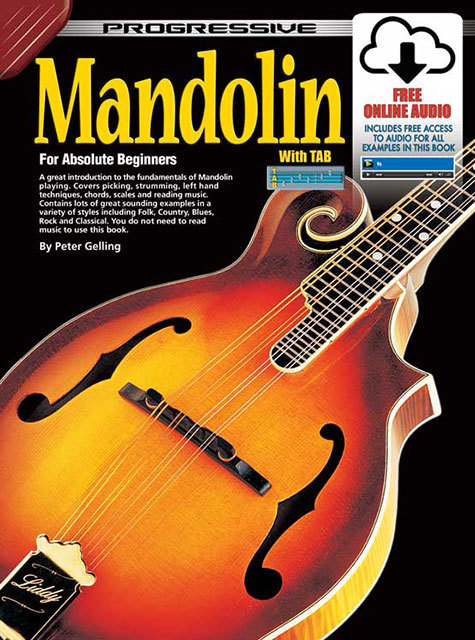 Image for Progressive Mandolin for Absolute Beginners Book [with Free Online Audio]