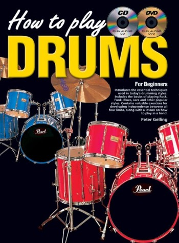Image for How To Play Drums for Beginners Book (Includes play along CD and DVD)