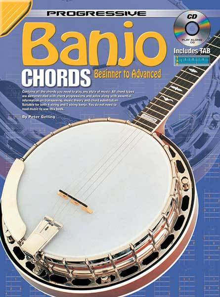 Image for Progressive Banjo Chords Book : Beginner to Advanced [with CD]