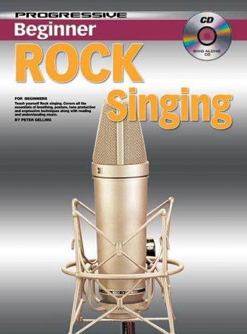 Image for Progressive Beginner Rock Singing Book/CD for Beginners