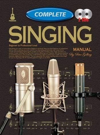 Image for Progressive Complete Singing Manual Book/CD(2) Beginner to Professional Level