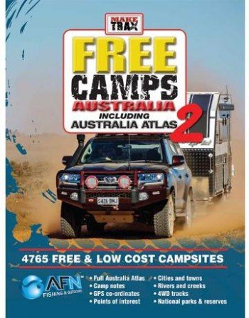 Image for Make Trax Free Camps Australia 2 Including Australia Atlas [Second Edition]