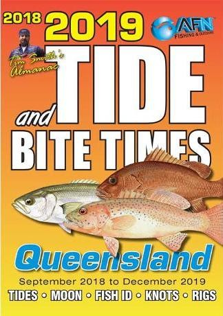 Image for 2019 Tide and Bite Times Almanac - Queensland