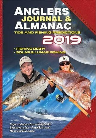 Image for Anglers Journal and Almanac 2019 : Tide and Fishing Predictions : Fishing Diary : Solar and Lunar Fishing