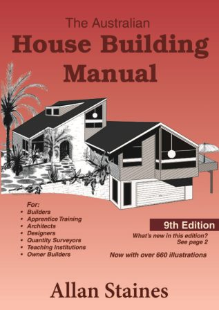 Image for The Australian House Building Manual [Ninth Edition]