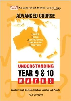 Image for Understanding Year 9 and 10 Advanced Maths