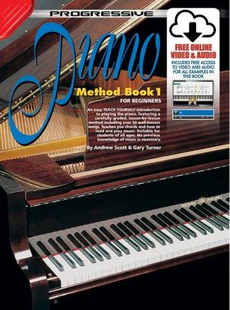 Image for Progressive Piano Method Book 1 for Absolute Beginners [Free Online Video and Audio]
