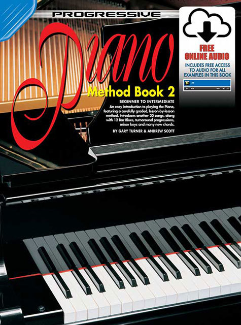 Image for Progressive Piano Method Book 2 Beginner to Intermediate [Free Online Video and Audio]