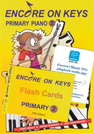 Image for Encore on Keys Primary Series 2 Piano / Keyboard Student Kit : Audio App and Flash Cards included