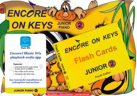 Image for Encore on Keys Junior Series 2 Piano / Keyboard Student Kit : Audio App and Flash Cards Included