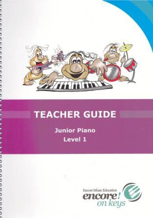 Image for Encore on Keys Teacher Guide Junior Piano Level 1