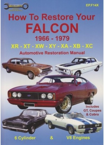 Image for How to Restore Your Falcon 1966 - 1979 XR XT XW XY XA XB XC Automotive Restoration Manual includes GT, Coupes, and Cobra (EP.F14X)