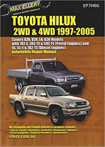 Image for Toyota Hilux 2WD and 4WD 1997-2005 Automobile Repair Manual EP.TH6G