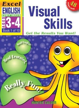 Image for Excel Early Skills : English : Visual Skills (Ages 3-4) Book 1 of 10