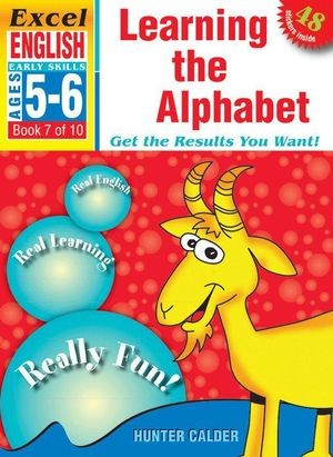 Image for Excel Early Skills : English : Learning the Alphabet (Ages 5-6) Book 7 of 10