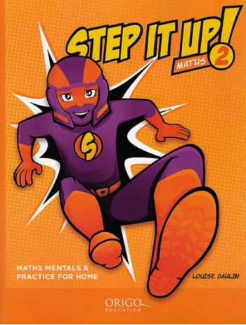 Image for Step it Up! Maths Year 2 Orange - Maths Mentals and Practice for Home