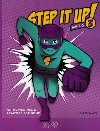 Image for Step it Up! Maths Year 3 Purple - Maths Mentals and Practice for Home