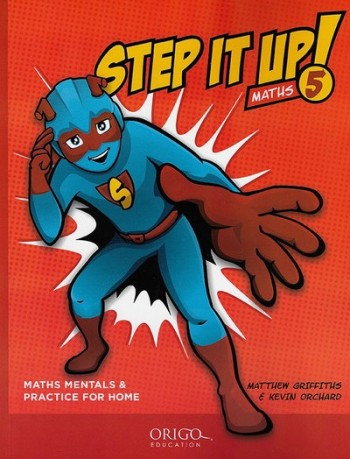 Image for Step it Up! Maths Year 5 Red - Maths Mentals and Practice for Home