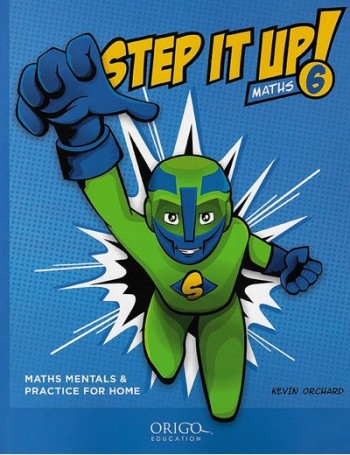 Image for Step it Up! Maths Year 6 Blue - Maths Mentals and Practice for Home