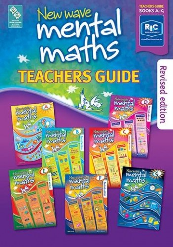 Image for New Wave Mental Maths Teachers Guide – Books A-G Ages 5–11+ Australian Curriculum RIC-1707