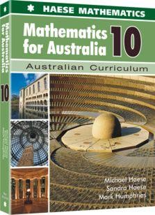Image for Mathematics for Australia 10 Textbook : Australian Curriculum