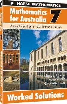 Image for Mathematics for Australia 7 Worked Solutions : Australian Curriculum