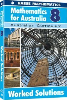 Image for Mathematics for Australia 8 Worked Solutions : Australian Curriculum