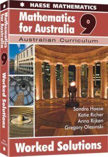Image for Mathematics for Australia 9 Worked Solutions : Australian Curriculum