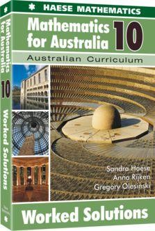 Image for Mathematics for Australia 10 Worked Solutions : Australian Curriculum