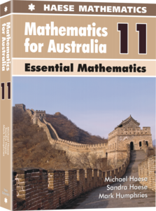 Image for Mathematics for Australia 11 Essential Mathematics Textbook