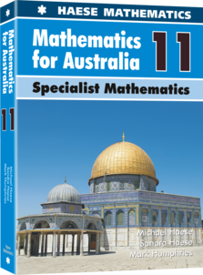 Image for Mathematics for Australia 11 Specialist Mathematics Textbook
